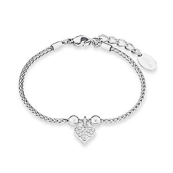 s.Oliver juweel dames armband roestvrij staal cubic Zirkonia SO1443/1 - 9240425