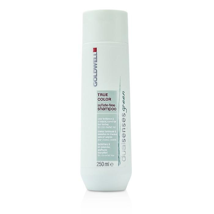 Goldwell Dual Senses Green True Color Sulfate-Free Shampoo (For Color-Treated Hair) 250ml/8.4oz