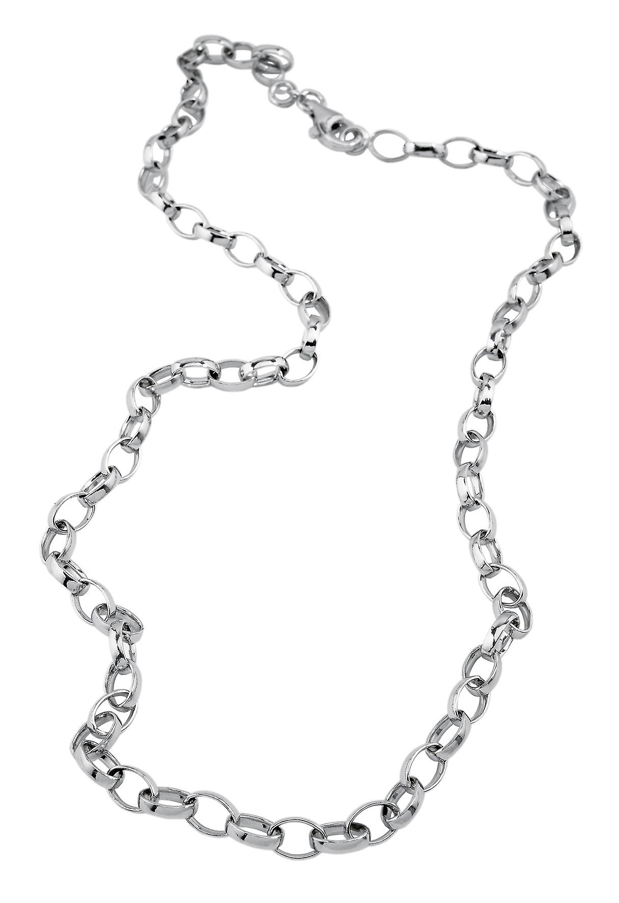 Burgmeister charms-women's necklace JBM1056-429, 925 sterling silver rhodanized, fantasy chain for carms