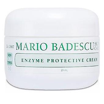 Mario Badescu Enzyme Protective Cream - For Combination/ Dry/ Sensitive Skin Types - 29ml/1oz