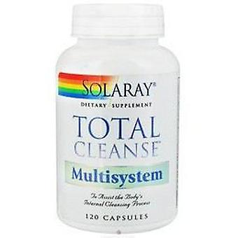 Solaray Total Cleanse Multisystem 120Cap. (Dietetics and nutrition , Supplements)
