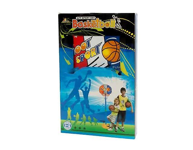 Kids Standing Basketball Hoop with Net Inddor and Outdoor Playing