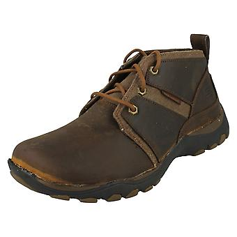 Mens Skechers Casual Lace Up Boots Lutador