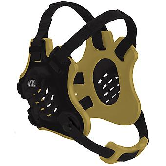 Cliff Keen F5 Tornado Wrestling Headgear - Black/Vegas Gold/Black