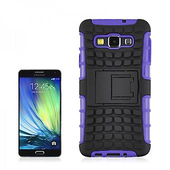 Hybrid case 2 piece SWL robot purple for Samsung Galaxy A3 A300 A300F