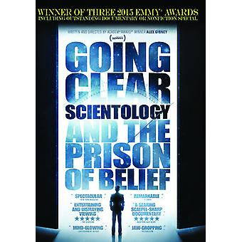 Going Clear: Scientology & the Prison of Belief [DVD] USA import