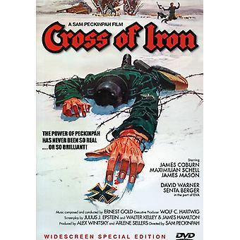 Tværs af jern [DVD] USA import
