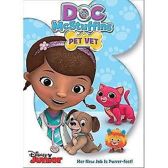 Doc McStuffins: Doc Pet Vet [DVD] USA import