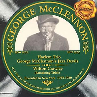 George McClennon - Harlem Trio [CD] USA import
