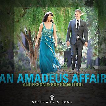 Mozart/Anderson - Amadeus-sagen [CD] USA import