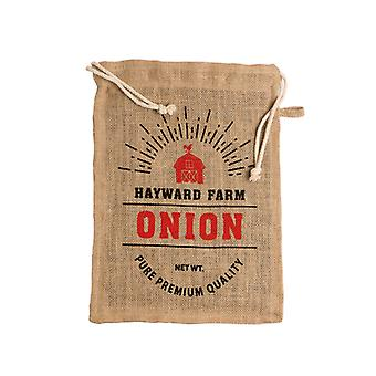 Jute Hayward Farm Onion Bag