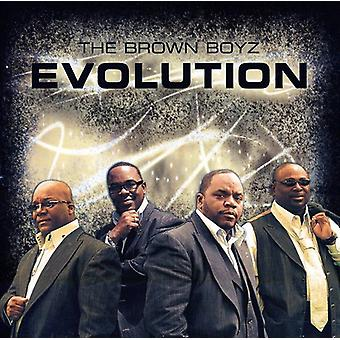 Brun Boyz - Evolution [CD] USA importerer