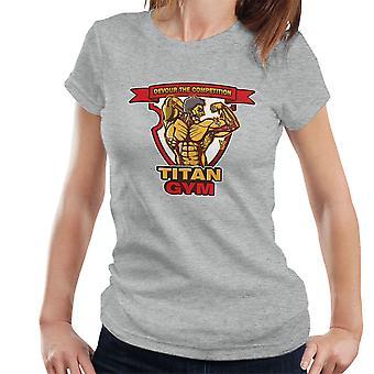 Titan Gym Attack On Titan Women's T-Shirt