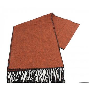 Knightsbridge Neckwear Tweed Scarf - Burnt Orange
