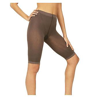 Solidea Silver Wave Strong Ladies Compression Shorts [Style 357A5] Fumo (Dark Grey)  XXL