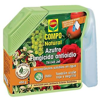 Compo Sulfur fungicide Antioidio 450gr (Garden , Insect and parasitics)