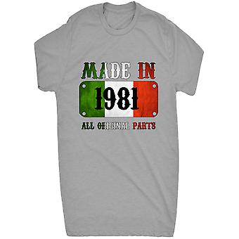 Renowned Made in Italy in 1981 All Original Parts