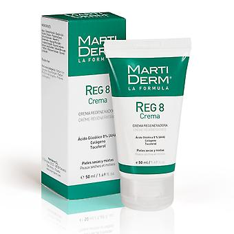 Martiderm Reg 8 Regenerating Cream 50 ml (Cosmetics , Facial , Creams with treatment)