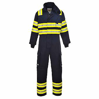 sUw - Bizflame flamme Resistantland Fire Safety Workwear Coverall Boilersuit