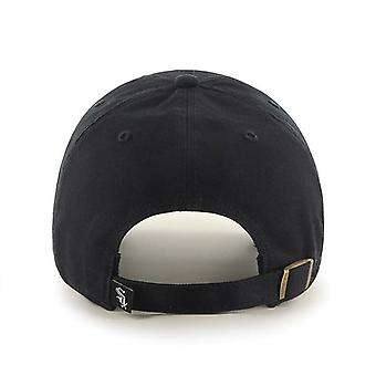 47 Brand MLB Chicago White Sox Clean Up Cap - Black