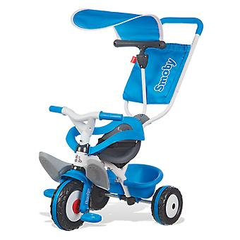 Smoby Tricycle Baby Stroller Blue (Outdoor , On Wheels , Bikes And Tricycles)