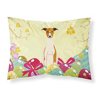 Easter Eggs Whippet Fabric Standard Pillowcase