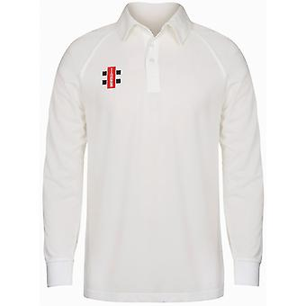 Gray-Nicolls Childrens/Kids Matrix Long Sleeve Cricket Shirt