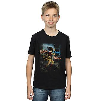 DC Comics Boys Wonder Woman Bombshell Cover T-Shirt