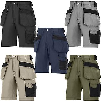 Snickers Craftsmen Work Shorts with Holster Pockets. Rip-Stop. UK DEALER - 3023