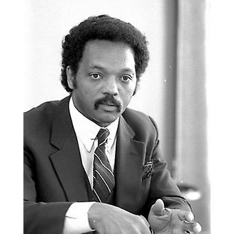 Jesse Jackson 1983 Poster Print by McMahan Photo Archive (8 x 10)