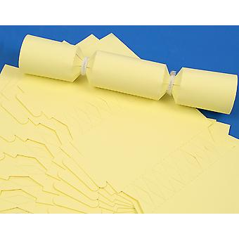 100 MINI Pale Pastel Yellow Make & Fill Your Own Cracker Boards