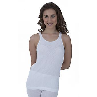 Ladies Thermal Wear Sleeveless Vest Polyviscose Range (British Made)