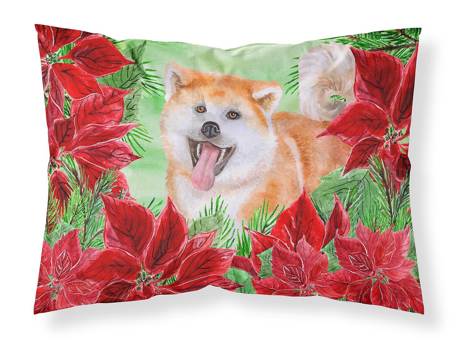 Standard Poinsettias Akita Taie Tissu D'oreiller De Du 3TFJl1Kc