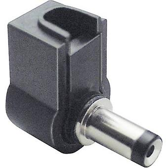 Low power connector Plug, right angle 5 mm 1.75 mm