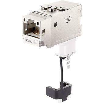 RJ45 module Keystone CAT 6A Metz Connect 130B22-E