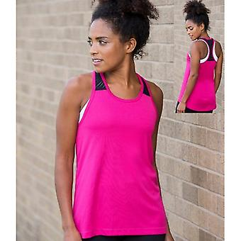 AWDis Just Cool Womens/Ladies Girlie Smooth Workout Sleeveless Vest