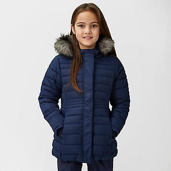 New Peter Storm Girl's Lizzy Insulated Parka Navy
