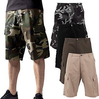 Urban classics - pantaloncini cargo mimetico Bermuda shorts