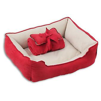 Pawise Cuna 3en1 Rojo (Dogs , Bedding , Beds)