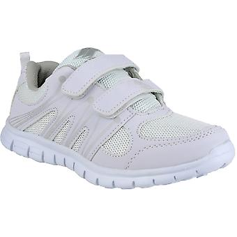 Mirak Girls Milos Lightweight Sports Trainers White