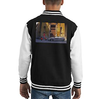 Italdesign Aztec 2 Concept Car Kid's Varsity Jacket