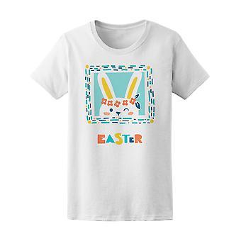 Easter Winking Bunny Tee Women's -Image by Shutterstock