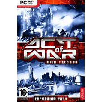 Handling av kriget högförräderi (PC DVD)