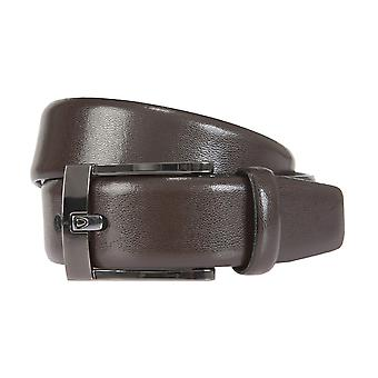 Strellson belts men's belts leather belt Brown 1607