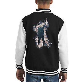 Tom Meighan Of Kasabian At TRNSMT Festival Glasgow 2017 Kid's Varsity Jacket
