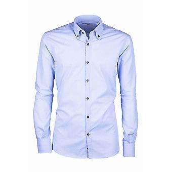 Fabio Giovanni Palmori Shirt - Crisp Italian Poplin Cotton Button-Down Collar Shirt