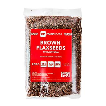 PROZIS - Brown flax seed 200 g -.