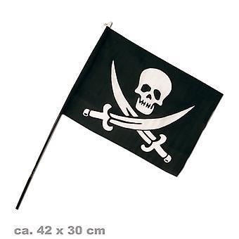 Bandera de pirata Bucanero Pirata fiesta de la bandera