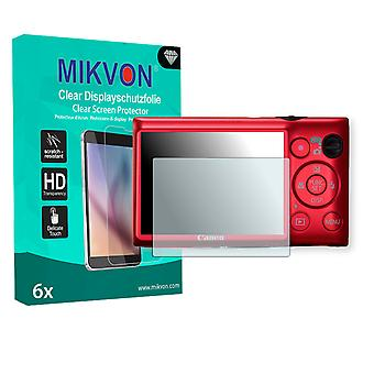 Canon IXY 410F Screen Protector - Mikvon Clear (Retail Package with accessories)