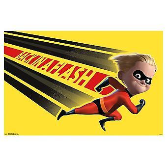 The Incredibles 2 - Dash Poster Print